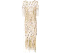 fringed sequined gown