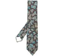 Bestickte Jacquard-Krawatte