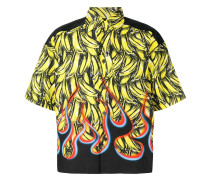 Hemd mit Bananen-Print