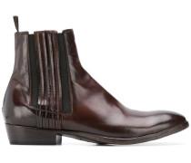 Chelsea-Boots mit mandelförmiger Kappe