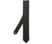 Krawatte mit Monogrammmuster