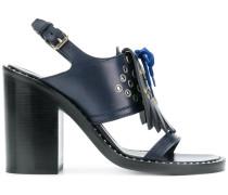 kiltie fringe sandals