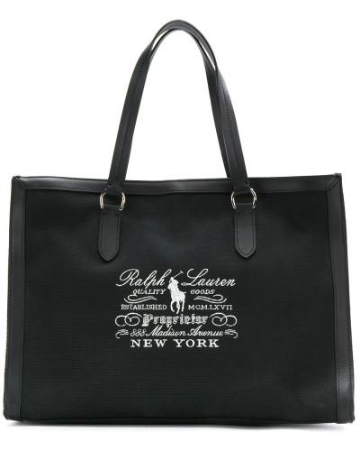 Ralph Lauren Damen Shopper mit Stickerei Günstig Kaufen Sneakernews Online Günstig Online Neue ykZbX