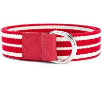 striped belt