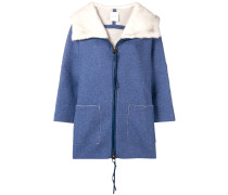 Mantel mit lockerem Schnitt