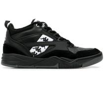 High-Top-Sneakers mit Logo-Streifen