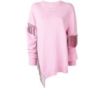 Pullover mit Kristallverzierung
