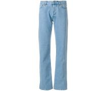 Boyfriend-Jeans mit Applikationen
