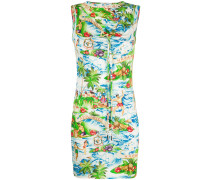 Minikleid mit Hawaii-Print