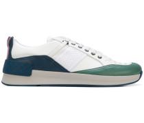 Sneakers mit Intrecciato-Einsatz