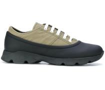 'Runner' Sneakers mit Einsatz