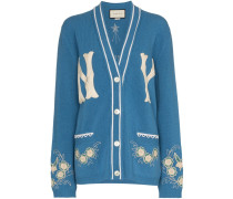Cardigan mit NY-Yankees-Patch