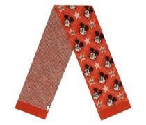 x Disney jacquard-knit scarf
