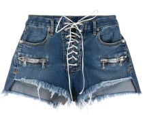 'Vintage Chaos' Jeans-Shorts