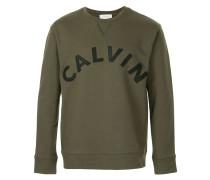 logo slim fit sweatshirt