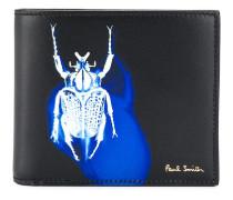 Portemonnaie mit Insekten-Print
