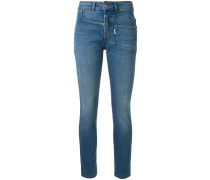 Jeans im Deconstructed-Look