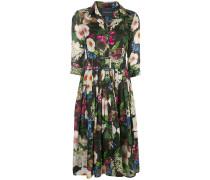 'Audrey' Kleid mit Blütenmuster