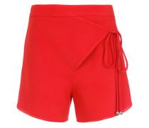 wrap style shorts