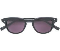 Matte Sonnenbrille mit rundem Gestell
