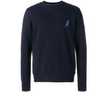 Sweatshirt mit Dinosaurier-Stickerei