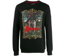 """Sweatshirt mit """"Sinner""""-Print"""