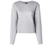 ribbed jersey sweater