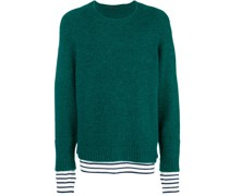 layer detail sweater