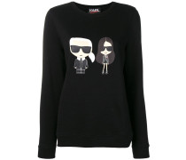 Karl Kaia motif sweater