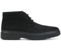 Wildleder-Schuhe mit Schnürung