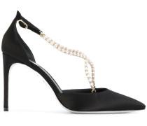 Sandalen mit Perlendetail