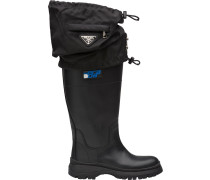 gaiter detail boots