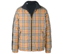House Check puffer jacket