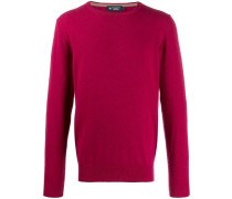 crew-neck wool jumper