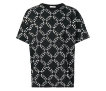 T-Shirt mit VLTN-Muster
