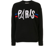 'Paris' Sweatshirt im Boyfriend-Look