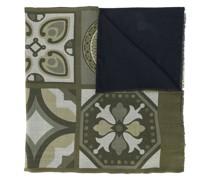Schal mit Kachel-Print