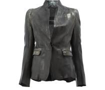 fitted warped jacket