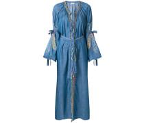 navajo denim kimono coat