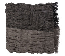 stripe crinkled scarf