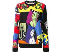 Vogue SS '91 print sweatshirt