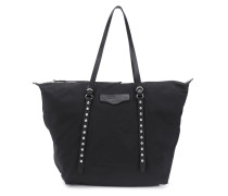 Bowie studded tote bag