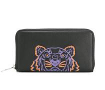 Portemonnaie mit Tiger-Print