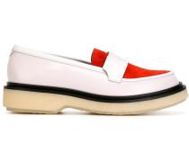 Loafer mit Colour-Block-Optik