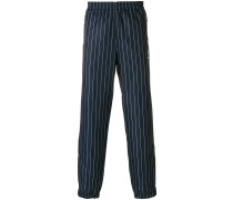 striped track trousers