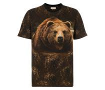 T-Shirt mit Bären-Print