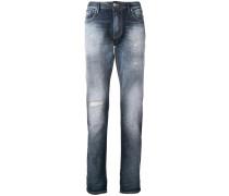 Bootcut-Jeans mit regulärem Schnitt