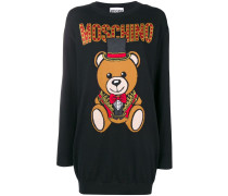 Pullover mit Teddybären-Print