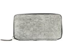 Portemonnaie in Krokodilleder-Optik