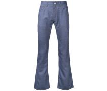 Wollhose mit Kontrast-Tasche